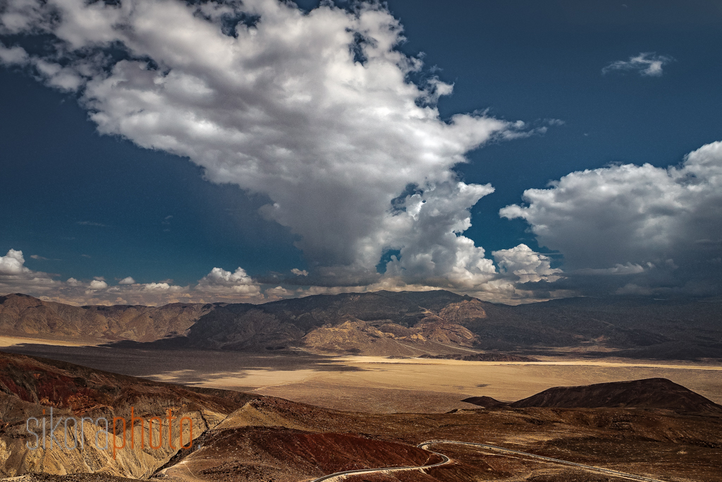photographing death valley