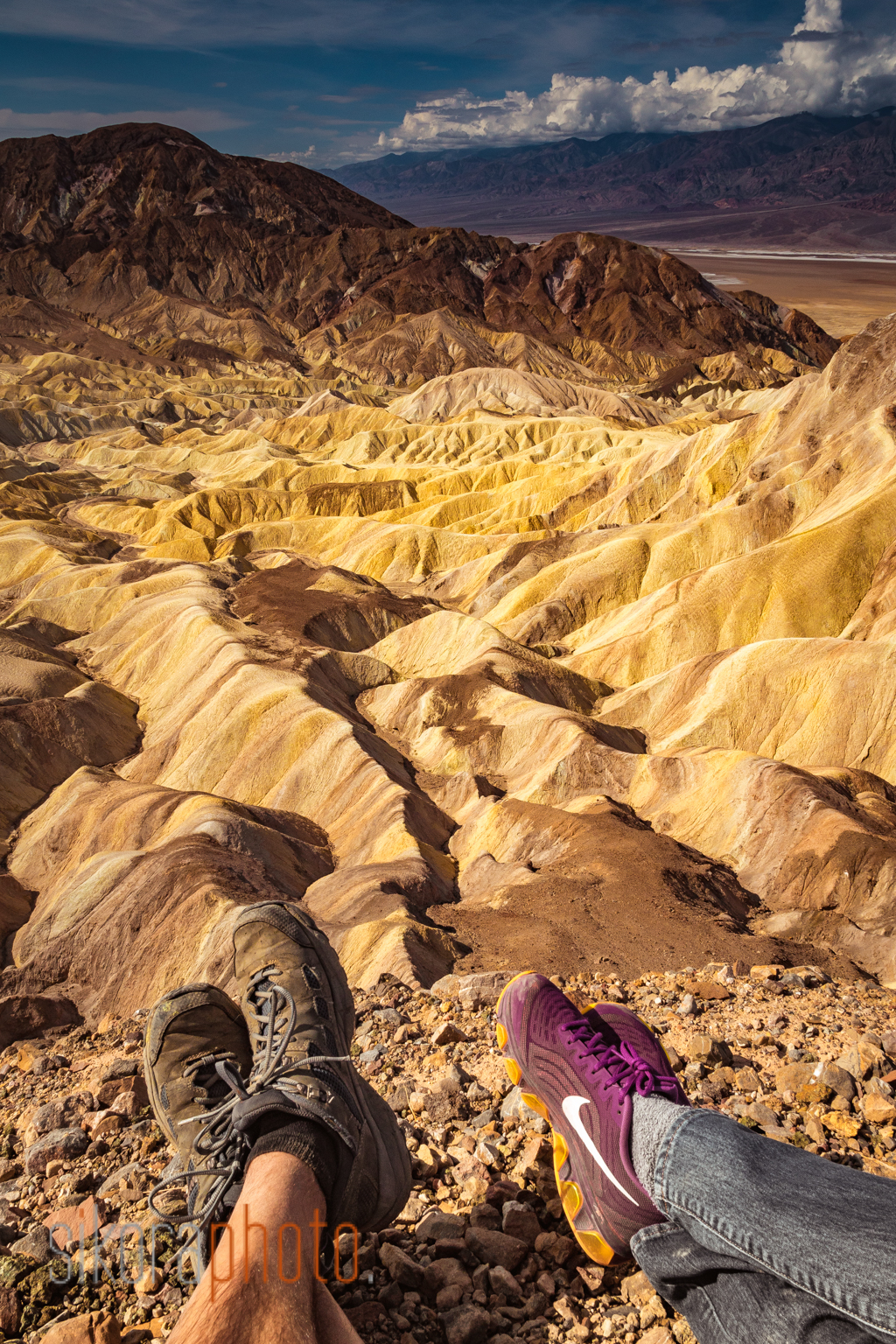 zabriskie point hike
